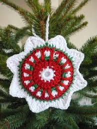 Free Crochet Christmas Ornament Patterns Fascinating 48 Best Crochet Ornaments Images On Pinterest Holiday Crochet