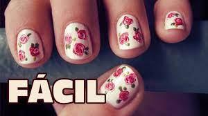 Una decoración de uñas sencillas y fáciles que te volverán toda una experta en el arte de uñas decoradas y quien sabe una profesional de prestigio. Unas Decoradas Muy Facil Y Perfectas Nuevas Ideas Para Pintar Las Unas Unas Fashion De Moda Youtube