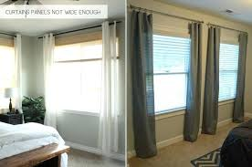 curtains for wide windows curtains curtains hanging all wrong with wide window treatments designs for windows curtains for wide windows
