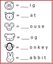Printable phonics worksheets for phonogram practice. Printable Animal Name Activities For 5 Year Olds K5 Worksheets Kindergarten Learning School Worksheets Learning Worksheets