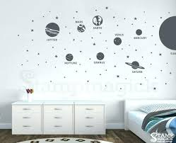 chandelier wall decal target solar system wall decals solar system