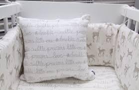 nels crib bedding set fawn