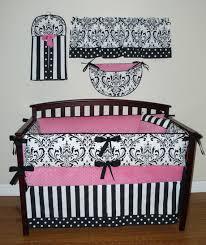 full size of interior 3pcs baby bedding set cotton crib sets black white stripe cross