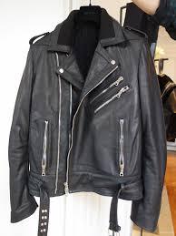 balmain black ribbed collar zipped biker leather jacket balmain homme fall winter 2016 collection
