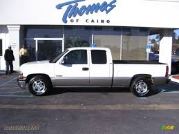 2001 Chevrolet Silverado 1500 LT Extended Cab in Summit White ...
