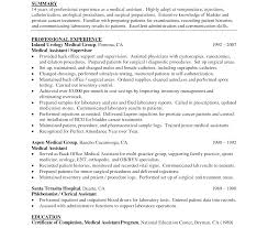 Delighted Medical Assistant Back Office Resume Sample Pictures