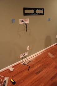 How To Hide Tv Cables Unbelievable Best 25 Hiding Wires Ideas On Pinterest  Cords Wall Home
