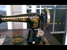 The Free No 5 Sewing Machine