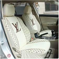 black louis vuitton car seat covers