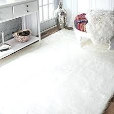 brown faux fur rug white fur area rug faux new plush sheepskin luxury brown in 4 brown faux fur rug
