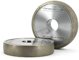 Maslin 4 inch metal <b>bond</b> diamond abrasive wheel of <b>round</b> edge for ...