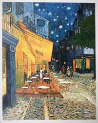 van gogh reion cafe terrace at night