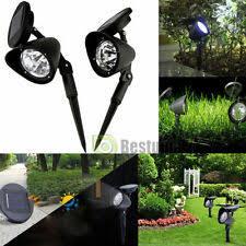 <b>Solar</b> Accent <b>Spotlights Lights</b> for sale   eBay