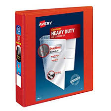 Amazon Com Avery Heavy Duty View Binders With One Touch Ezd Tm