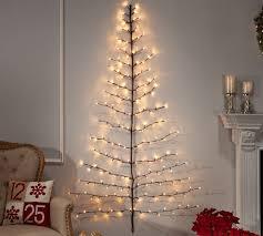 light up led tree shaped wall decor