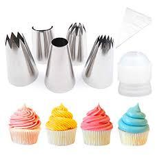 Amazoncom Pridebit Cupcakecake Decorating Tips 5 Extra Large 4
