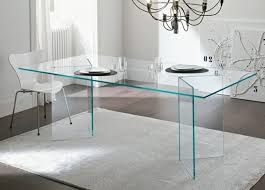 Modern Glass Dining Room Tables Luxury Modern Glass Dining Table