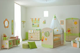 Nice Baby Nursery Furniture Set with Winnie the Pooh from Doimo