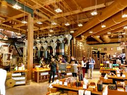 busy starbucks interior. Wonderful Interior The Starbucks Roastery  Where People Go To Feel Famous While Sipping A Cup  Of Coffee With Busy Interior W