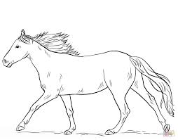Small Picture Coloring Pages Free Printable Horse Coloring Pages For Adults