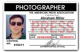Card Pvc Photographer Id Press