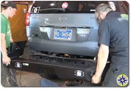 Installing Lexus Gx470 Swing Out Bumper Overland Adventures And