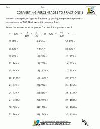 Fractions Decimals And Percentages Conversion Notes Grid Math ...