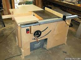 diy table saw stand build a table saw woodworker john doented his soup to nuts build diy table