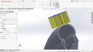 Circular Pattern Solidworks Mesmerizing How To Apply Circular Pattern To Cutextrude Feature In Solidworks