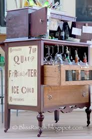 diy repurposed furniture.  Furniture Old Dresser Turned Portable Bar  Clever DIY Repurposed Furniture Ideas To  Try This Summer In Diy B