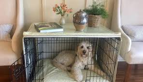 designer dog crate furniture ruffhaus luxury wooden. Eye Catching Designer Dog Crates Of Luxury Crate Cover Scott Living Fabric Home And Furniture: Furniture Ruffhaus Wooden