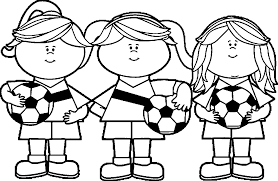 Small Picture Tht Says Soccer Girl Coloring Page Coloring Pages