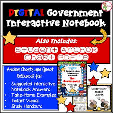 Government Digital Interactive Notebook And Free Anchor Chart Pdfs