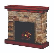electric stone fireplace canada
