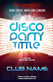 Free Templates For Posters Psd Poster Template For Club Event Free Psd Files