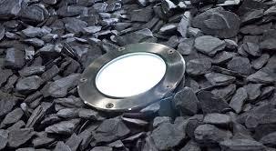 recessed floor light fixture led round outdoor circlex