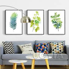 >lovely home interior framed art gregabbott   home interior framed art unique leaf print wall decor green botanical leaves art prints
