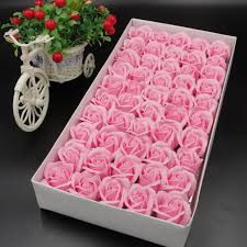 50pcs box artificial flowers sbooking jpg