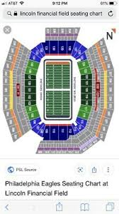 Eagles Seating Chart 2 Tickets Philadelphia Eagles Vs Baltimore Ravens Aug