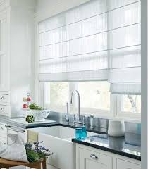 modern kitchen window treatment window treatment ideas for kitchen