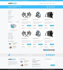 Free Ecommerce Website Templates Freebie Adamas Ecommerce Website PSD Template PremiumCoding 18