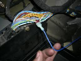 bmw e46 amp wiring pictures e46fanatics rca s to line out converter located on my rear right speaker