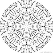 Small Picture Lotus Flower Mandala Coloring Pages Printable Coloring Pages