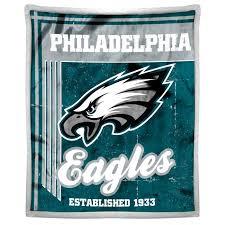 philadelphia eagles nfl mink sherpa throw