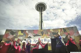 seattle mural on best wall art in seattle with the 19 best cities to see street art in the united states huffpost