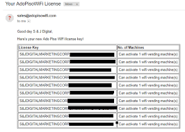 Vending Machine License Interesting Legit License For Piso Wifi Vendo Machine Jaaz Piso Wifi