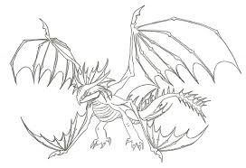 Small Picture Coloring Pages Train Your Dragon Coloring Pages