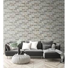 brick wallpaper home decor the
