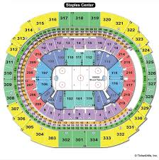 Staples Center Los Angeles Ca Seating Chart View