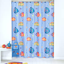 finding nemo shower curtain for bathroom decoration